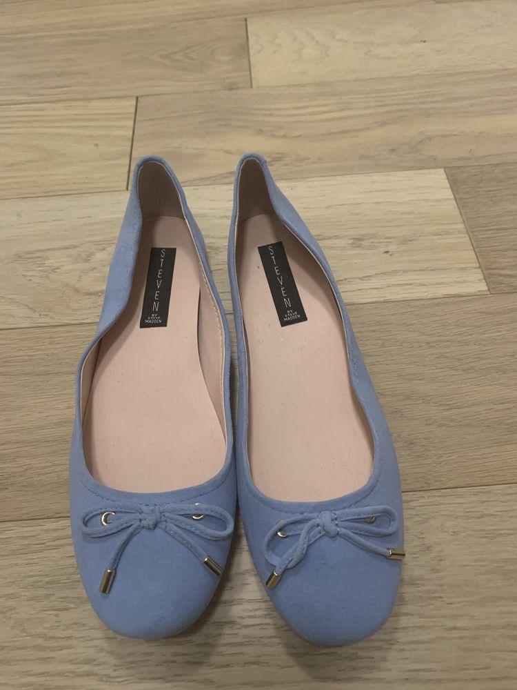 b05b8ef1484 NEW Steve Madden blue ballerina flats with bow #fashion #clothing ...