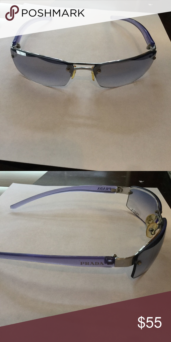9b43dad17c70 Lavender Prada sunglasses Excellent used condition. No scratches on the  lenses. Case included