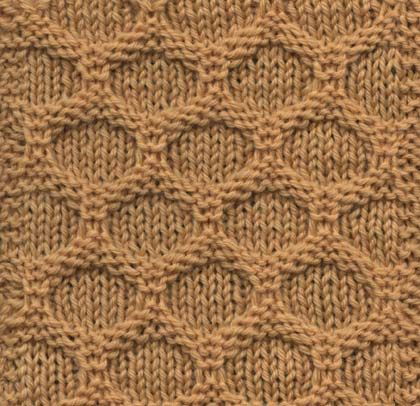 How To Knit Patterns With Different Colors : Honeycomb knitting pattern-I love this! Ive seen version with two colors...