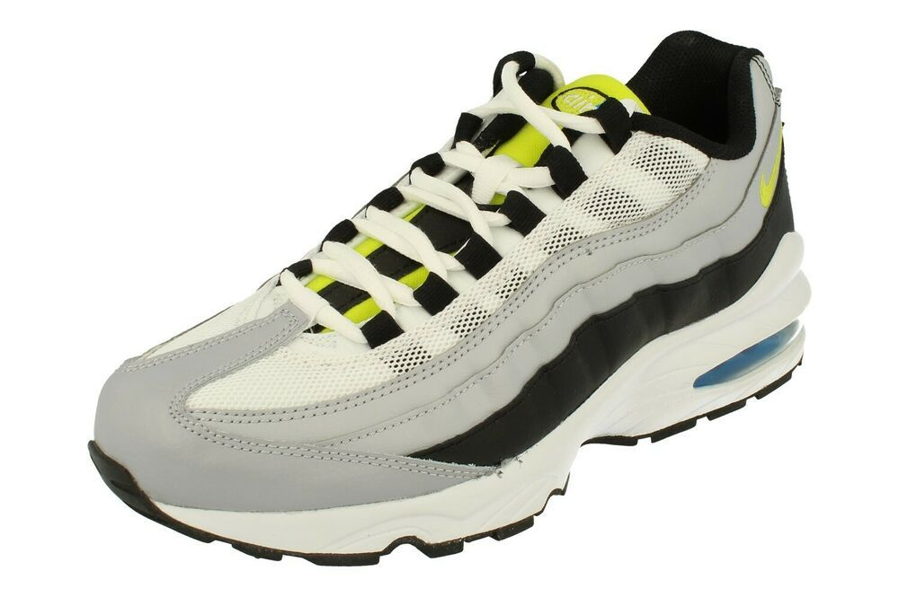 NIKE Big Kids Black Air Force 1 Low VT Prem Sneakers 472577 Sz 4.5Y $85 NIB