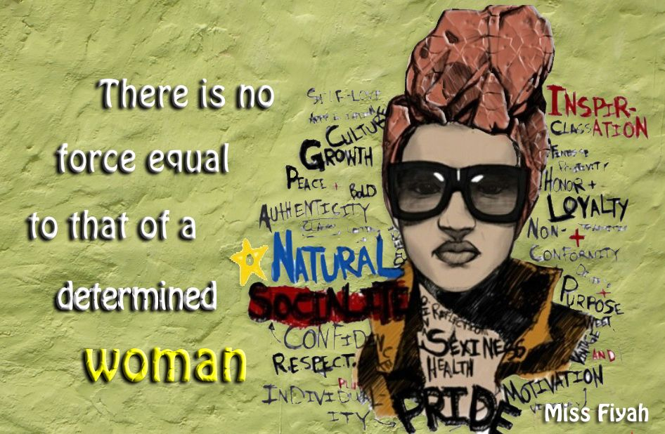 There is no force equal to that of a determined woman