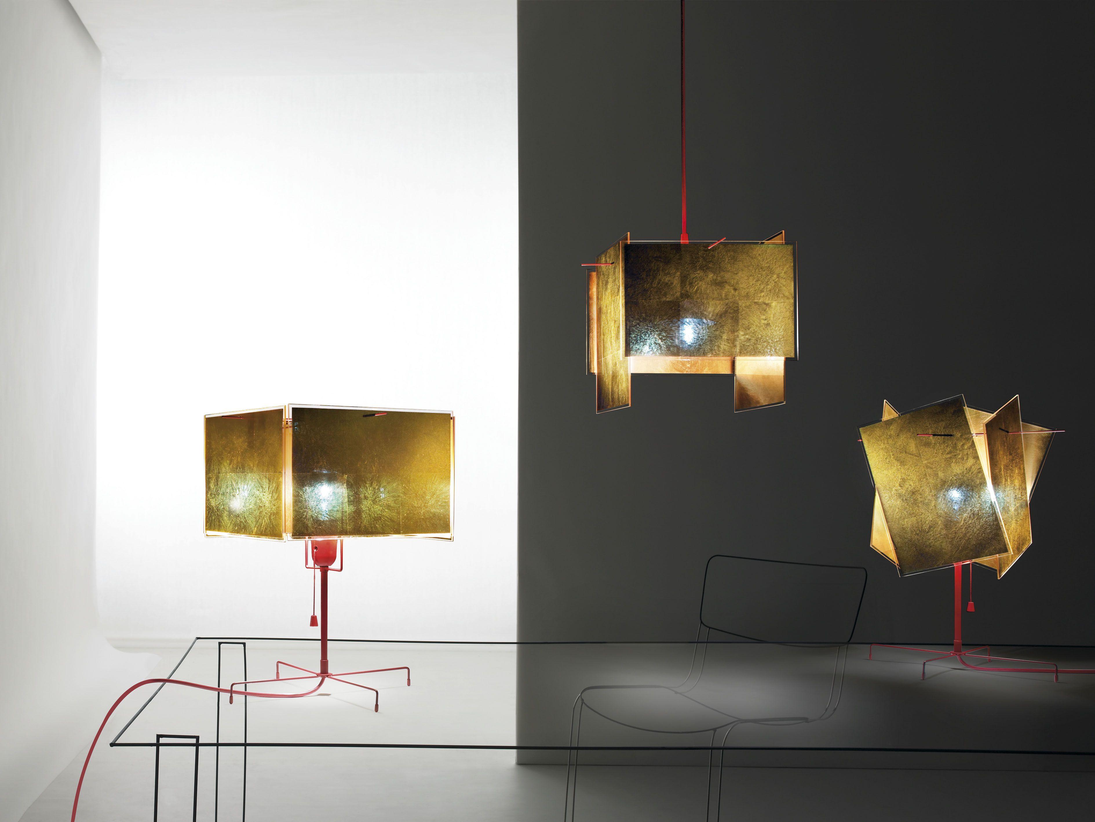 Lighting Design Karat Blau T by Ingo Maurer