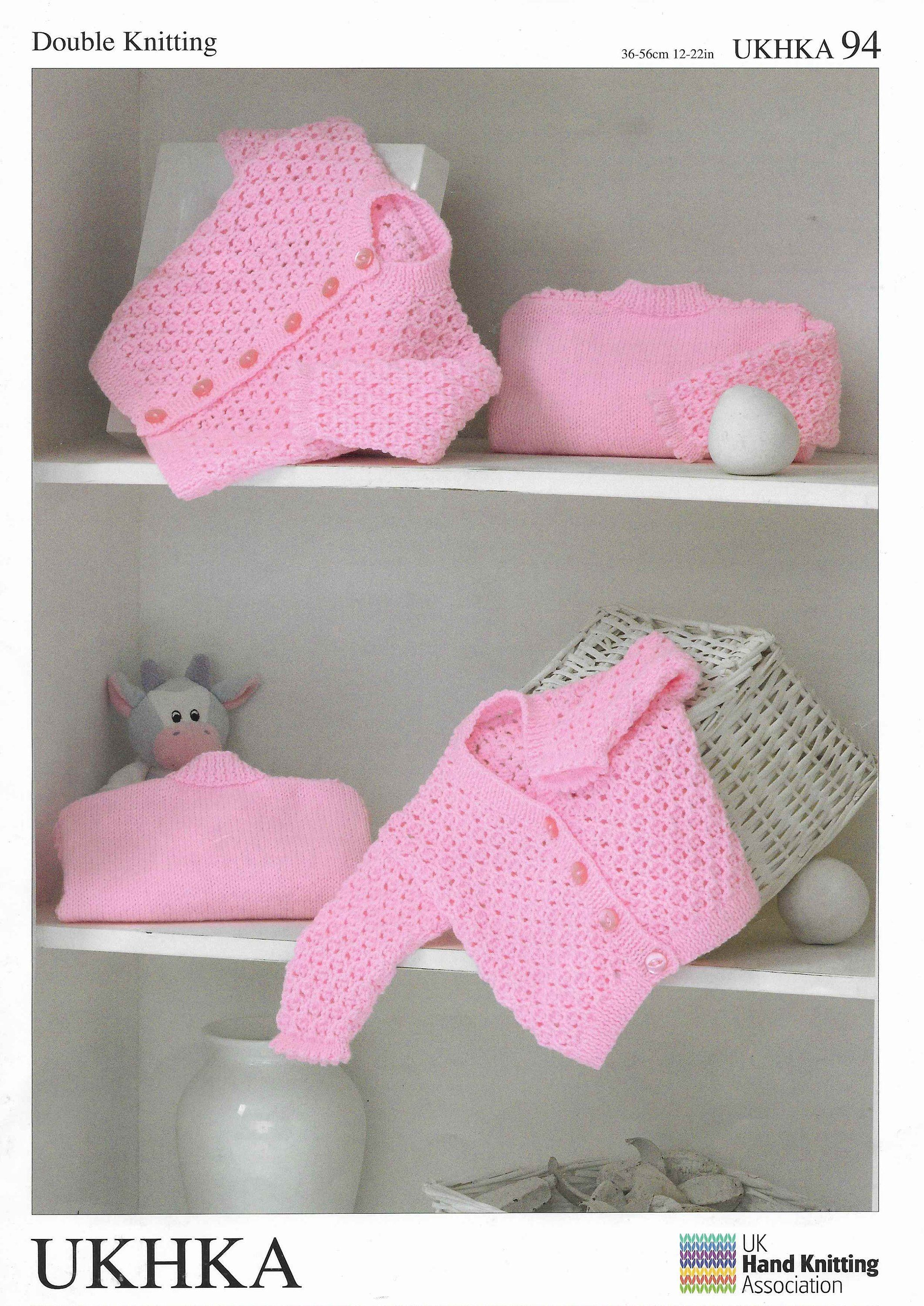 8017234bebb0 Baby Cardigan Knitting Pattern PDF Newborn Lace Sweater Baby Doll ...