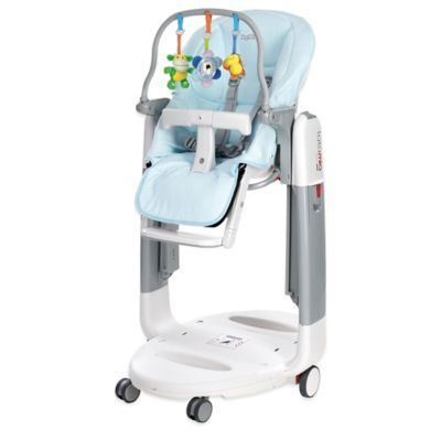 Peg Perego Tatamia High Chair Accessory Kit In Azurro Blue Peg Perego Baby Doll Accessories Baby High Chair