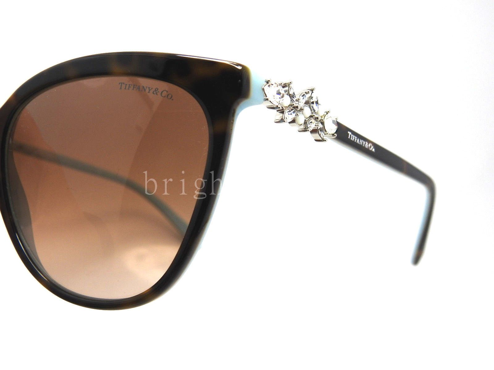a9dc8c153d Authentic TIFFANY   CO. Victoria Cat Eye Sunglasses TF 4131HB - 81343B   NEW  3