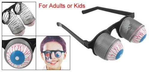 Toys & Hobbies Halloween Carnival Party Plastic Joke Horror Shock Eyes Glasses Toy
