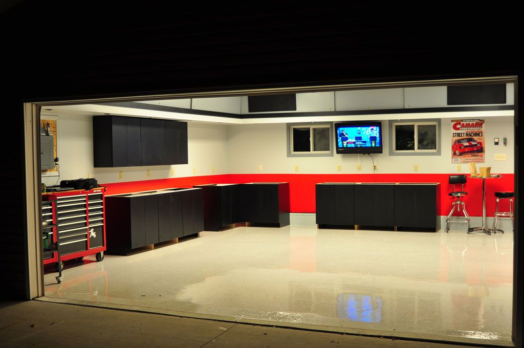 Garage Paint Scheme Thinking This Would Look Strange Inside My