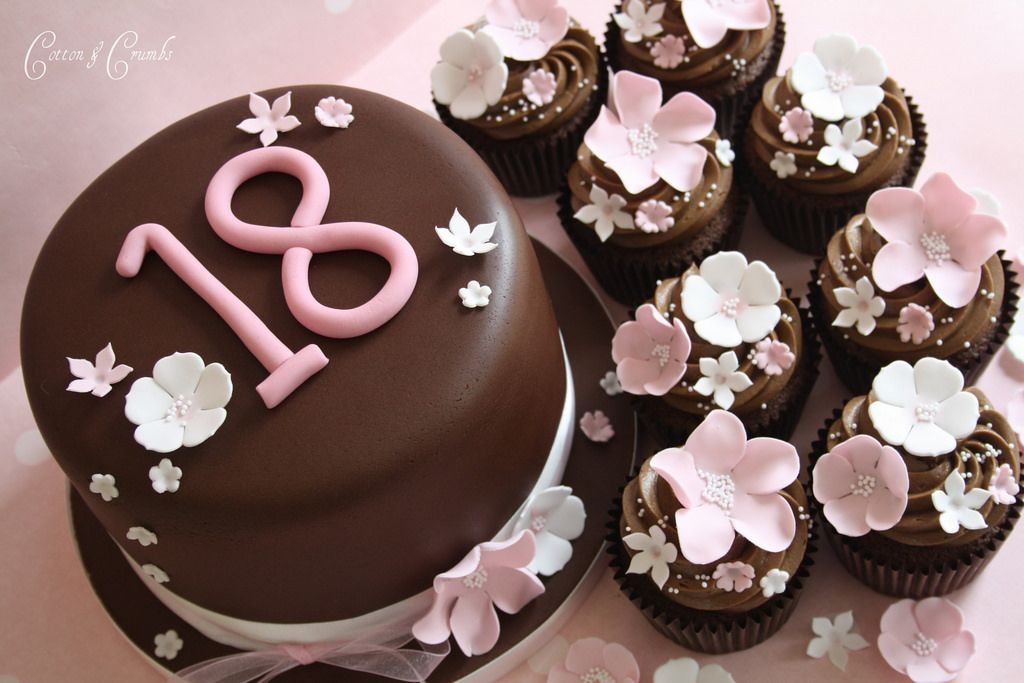 18th Birthday Mit Bildern Geburtstag Kuchen Madchen Schone