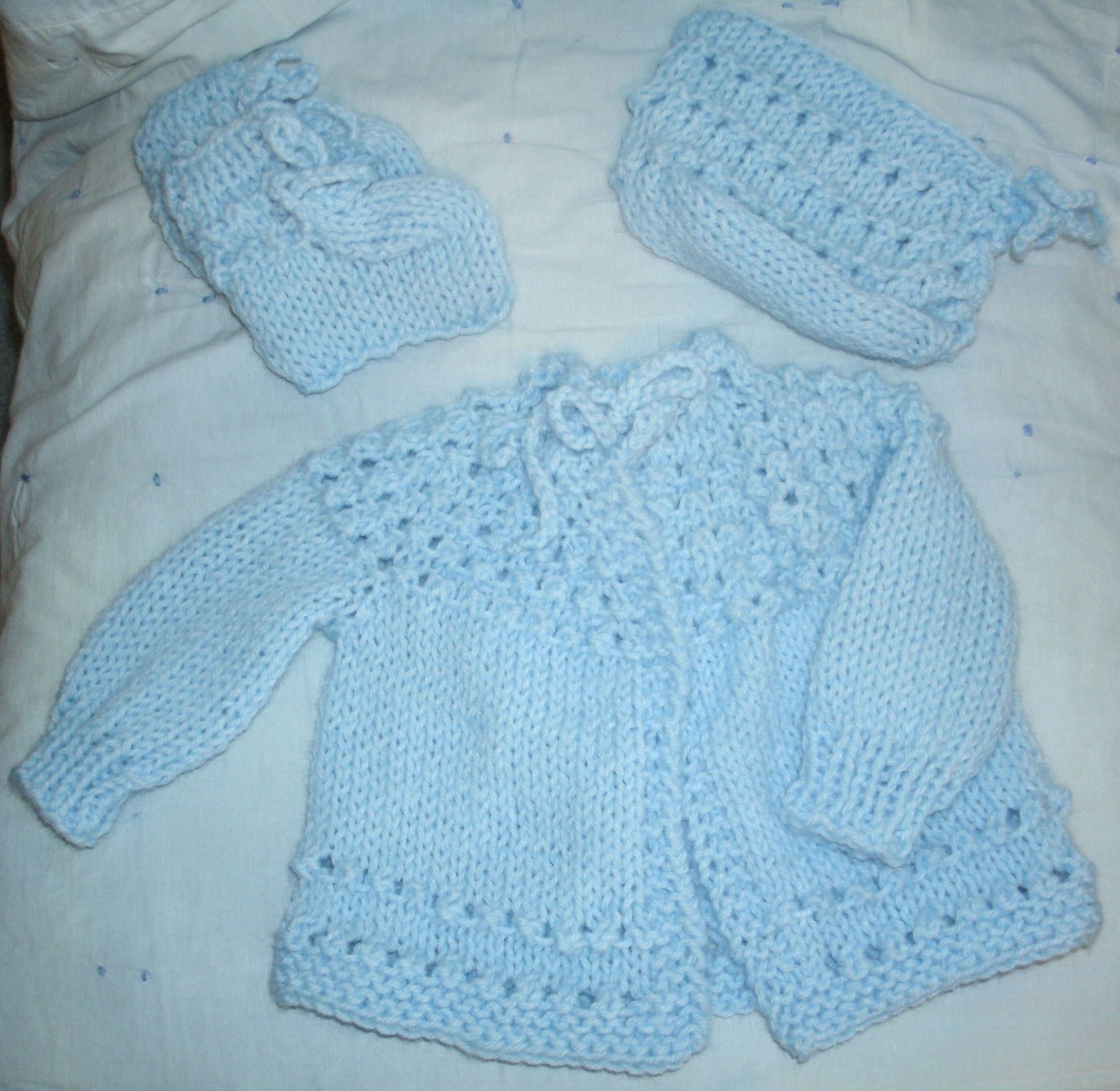 ae572f463d0a Baby Sweater Set -