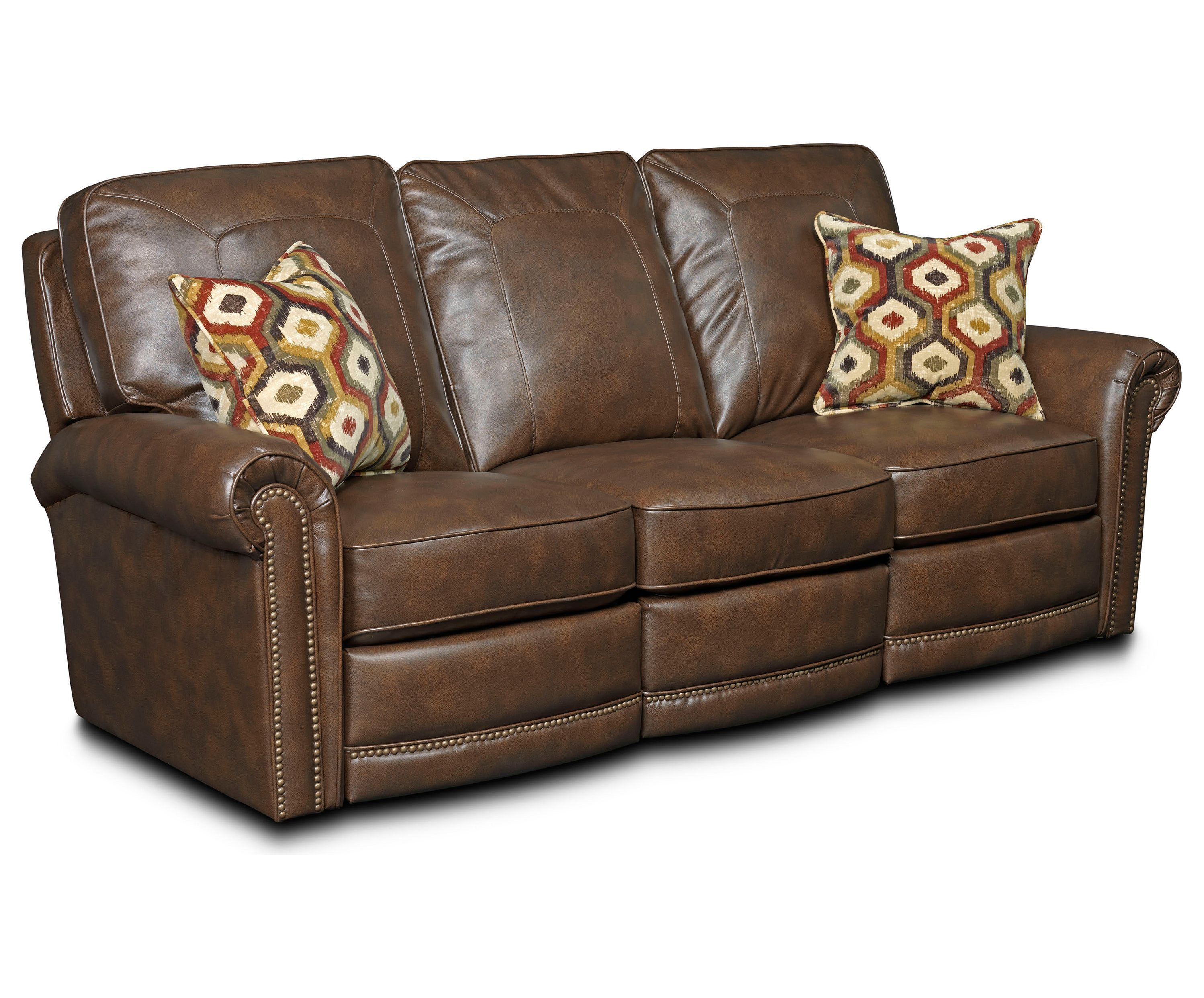 Kingsway Power Leather Reclining Sofa by e80 from Value City