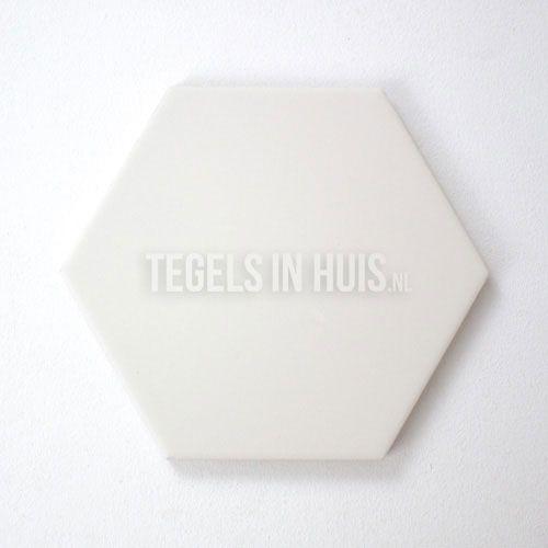 Tuintegels 80x80 Aanbieding.Hexagon Wit 14 2x16 4 Hexagonaal Zeshoekig Hexagontegel