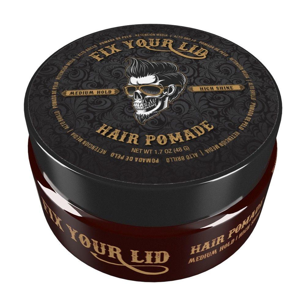Fix Your Lid Medium Hold High Shine Hair Pomade 1.7oz