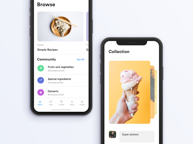 iphone x food blog collection by nicola baldo