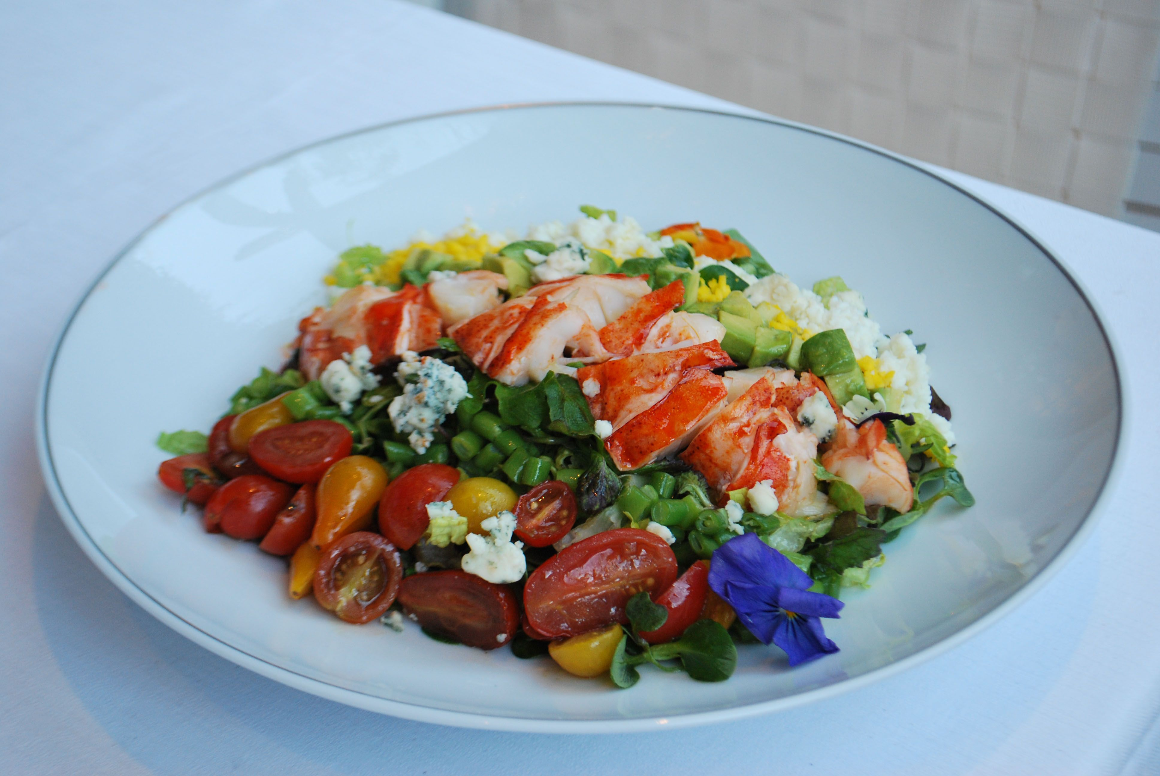 Have you tried our Lobster Cobb? It's delicious and