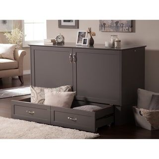 Atlantic Furniture Madison Murphy Bed Chest Twin Size in Atlantic