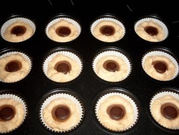 Toffifee-Muffins - Rezept mit Bild