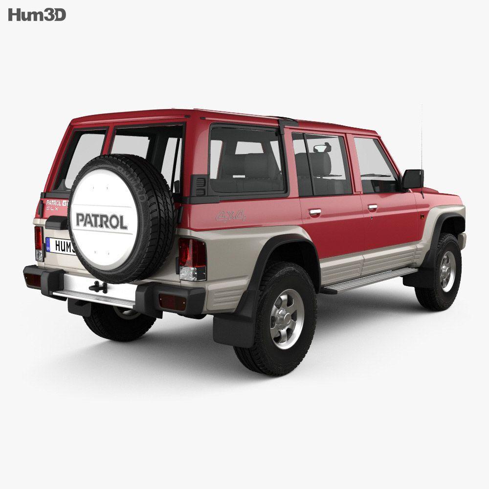 3d Model Of Nissan Patrol Y60 5 Door 1987 In 2020 Nissan Patrol Nissan 3d Model