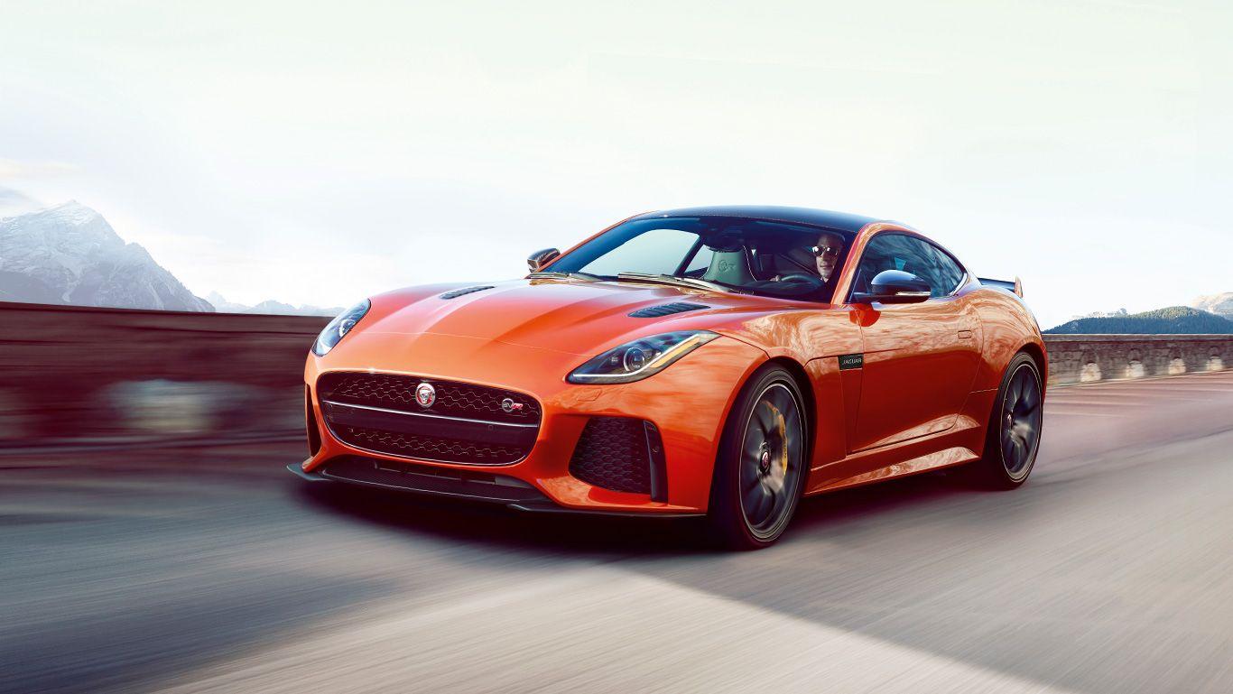 jaguar f type svr coupe shown in firesand sports cars pinterest