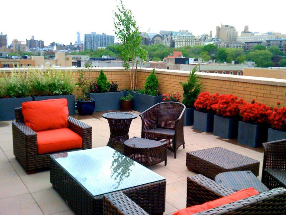 rooftop seating ideas home designing pinterest rooftop design