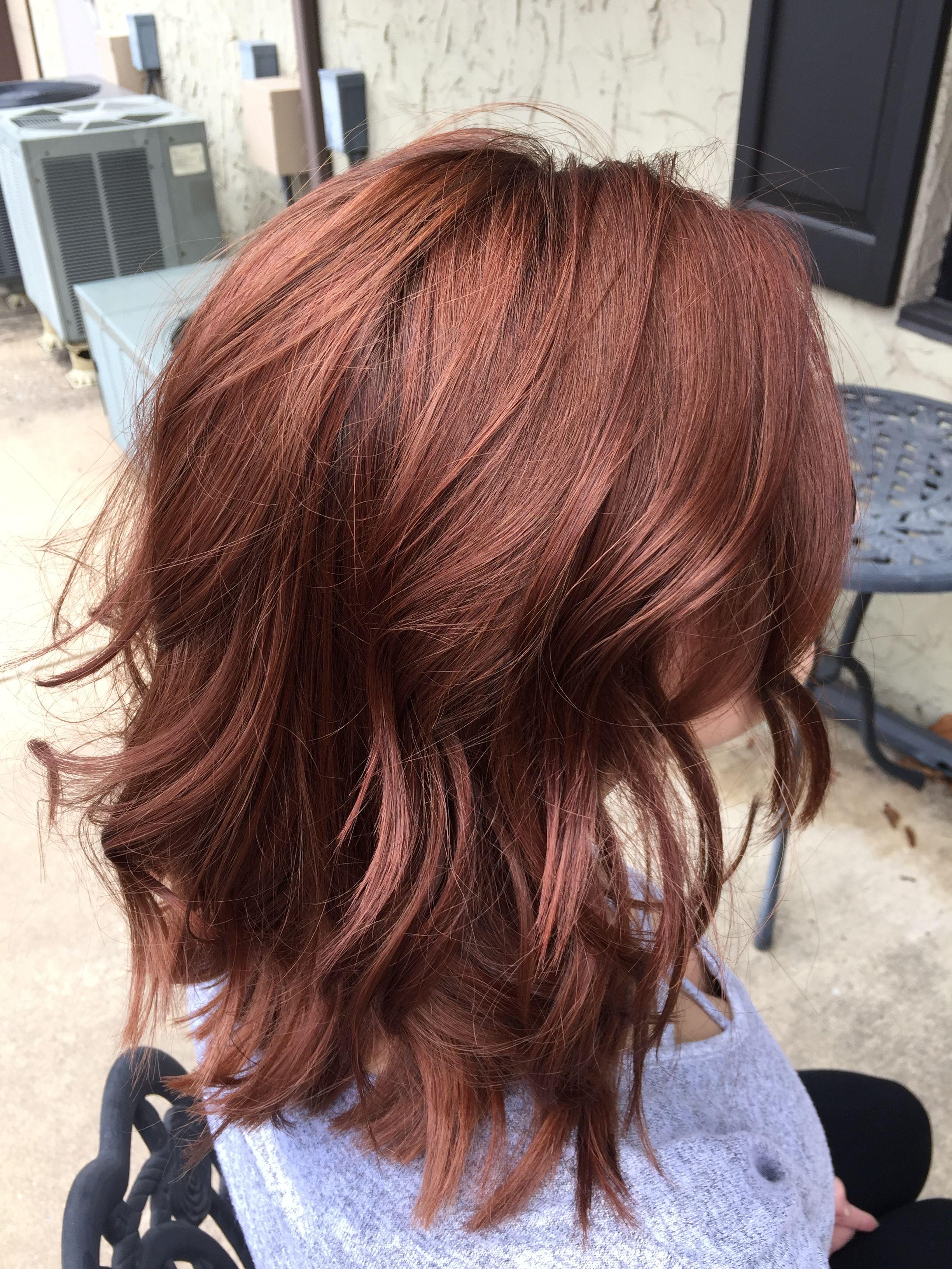 Pin by Nicole Norris-Hoppock on Hair  Hair color auburn, Hair
