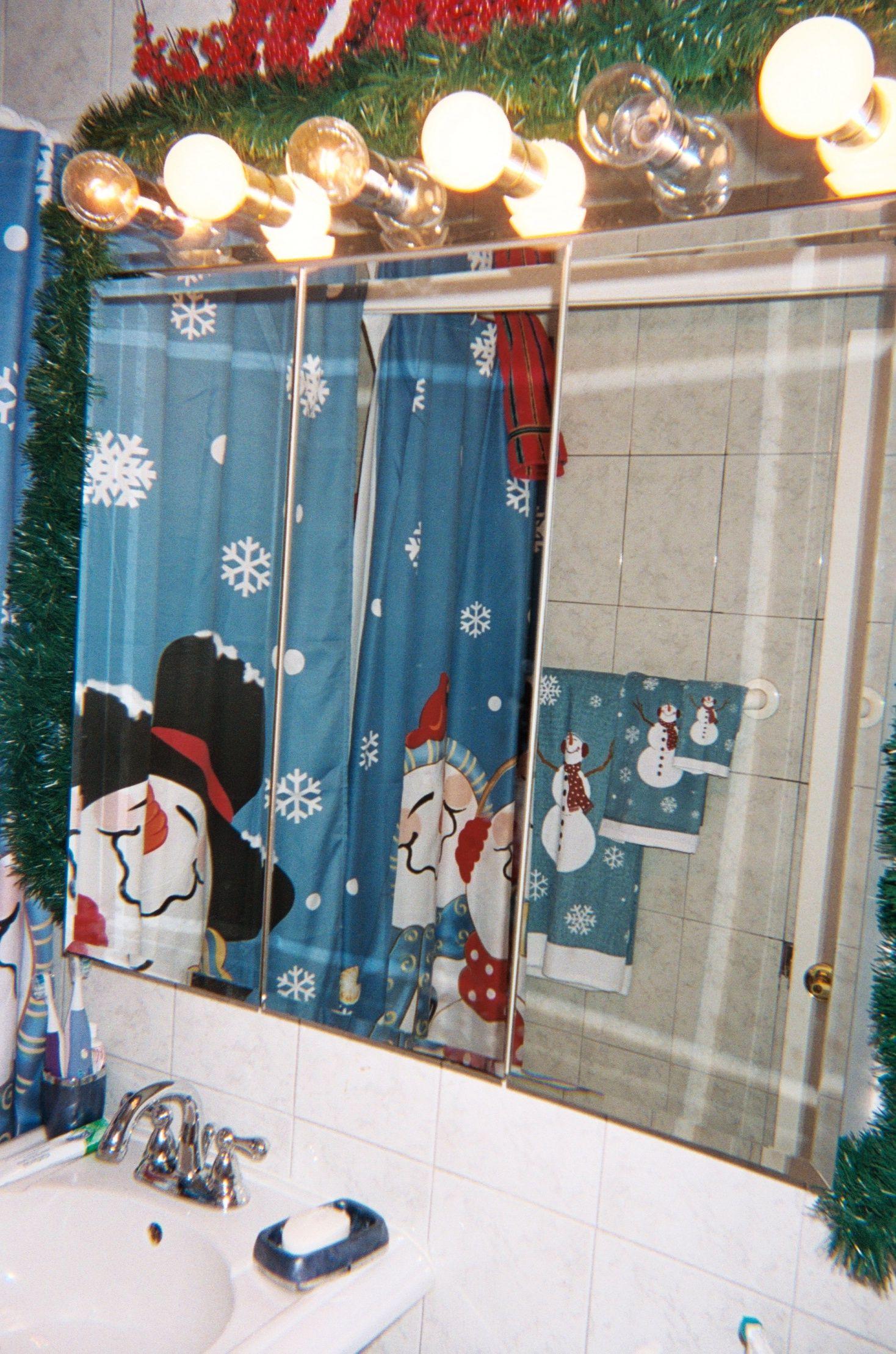 Christmas Decorations Bathroom Christmas decorations
