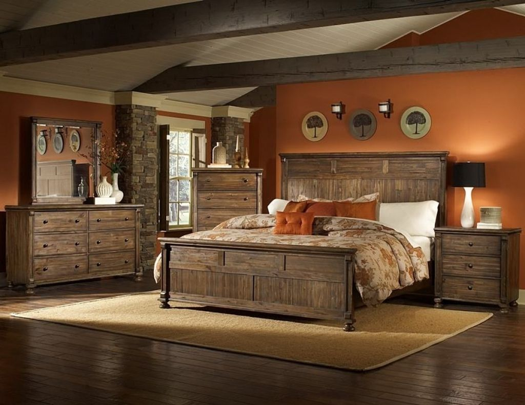 Cheap rustic bedroom furniture sets modern interior paint colors