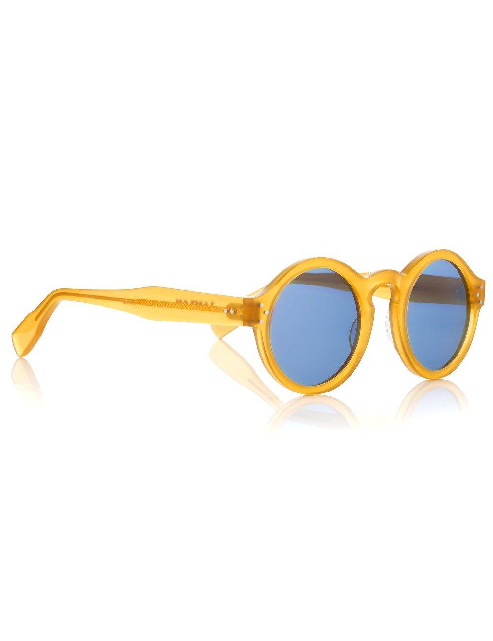 41c7ccfb7440 Yellow Round Mizaru Sunglasses