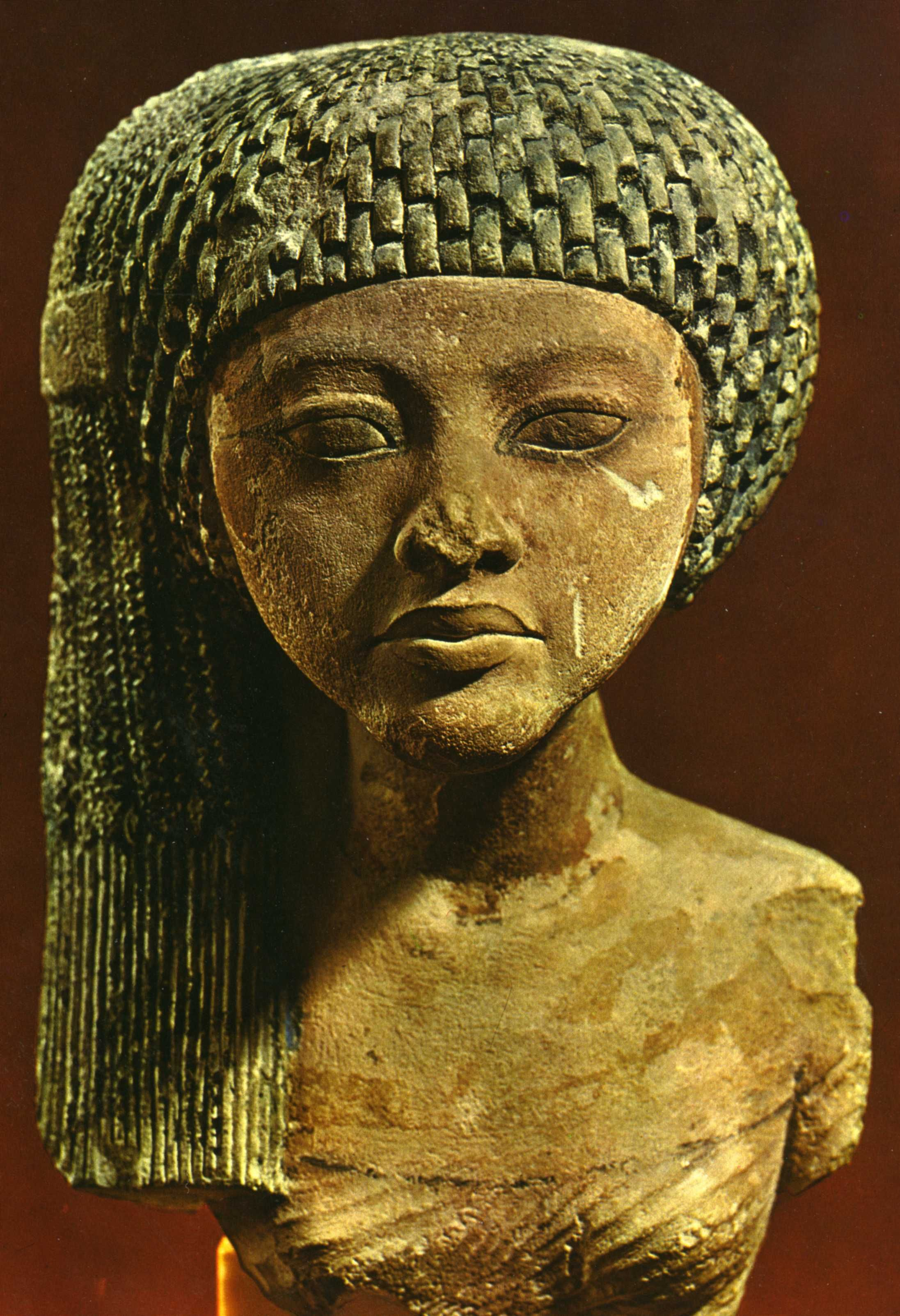 Louvre Egyptian Princess Modigliani Deeply Affected Haunting Timeless Beauty