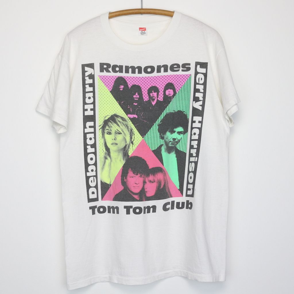 Ramones Escape From New York Tour Shirt 1990 New York Tours Tour Shirt American Vintage Clothing