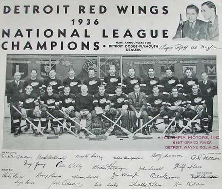Red Wings Team
