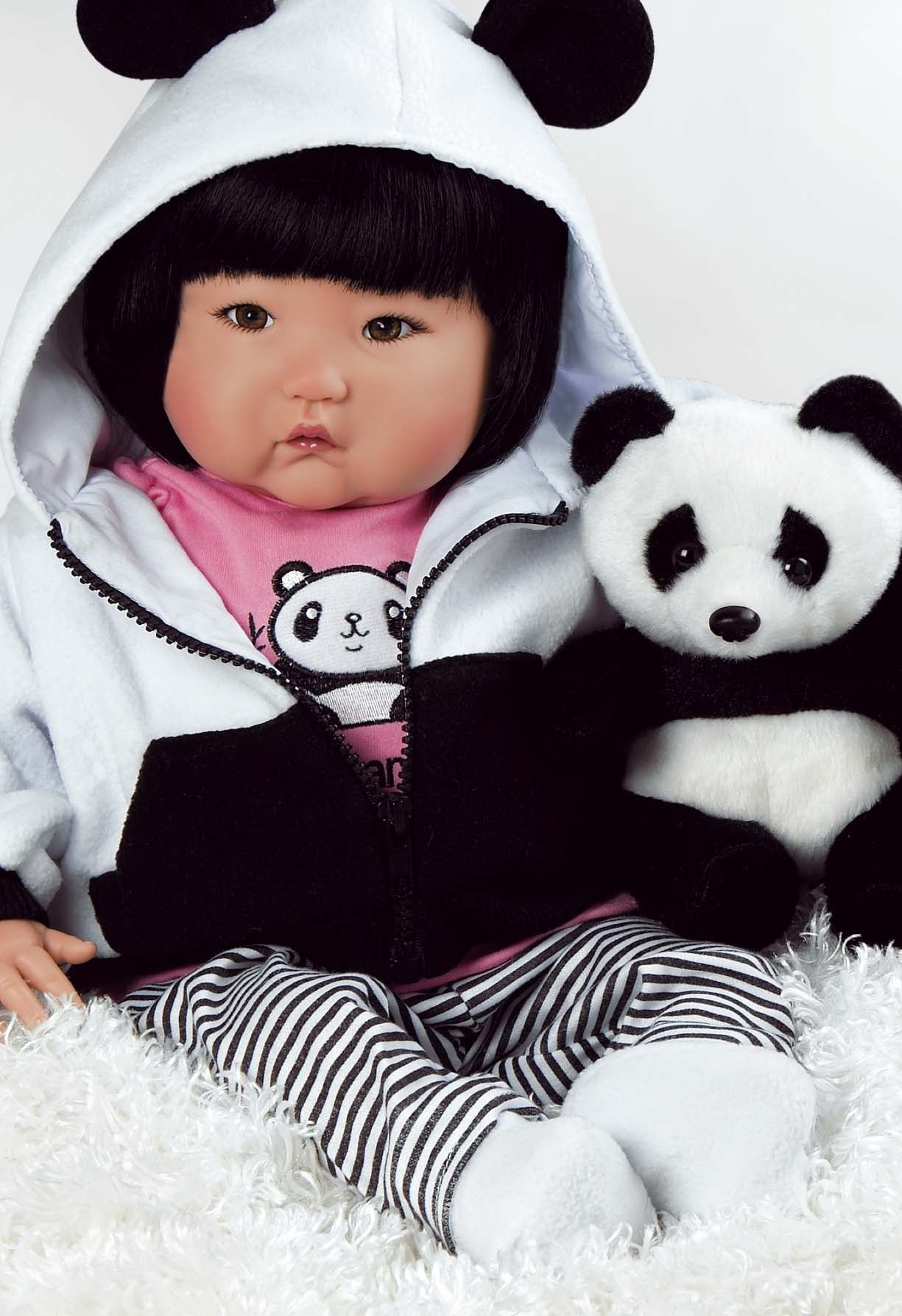Asian Baby Doll Baby Bamboo 20 Inch Chinese Baby In