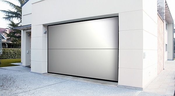 Revolutionary Two Section Overlap Wood Doors Designed And Crafted In Italy.  The Innovative Track