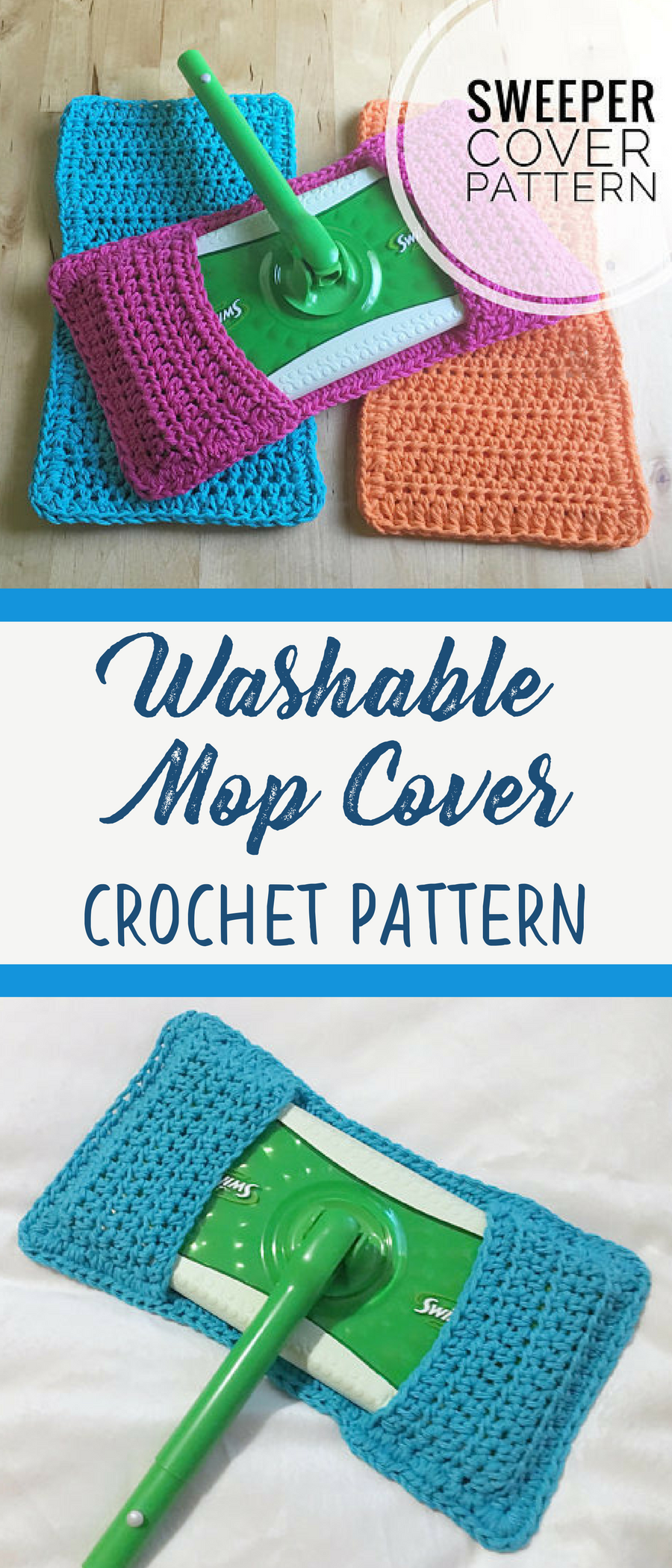 crochet mop covers for your swiffer sweeper i love this idea the pattern is - Hakelmutzen Muster