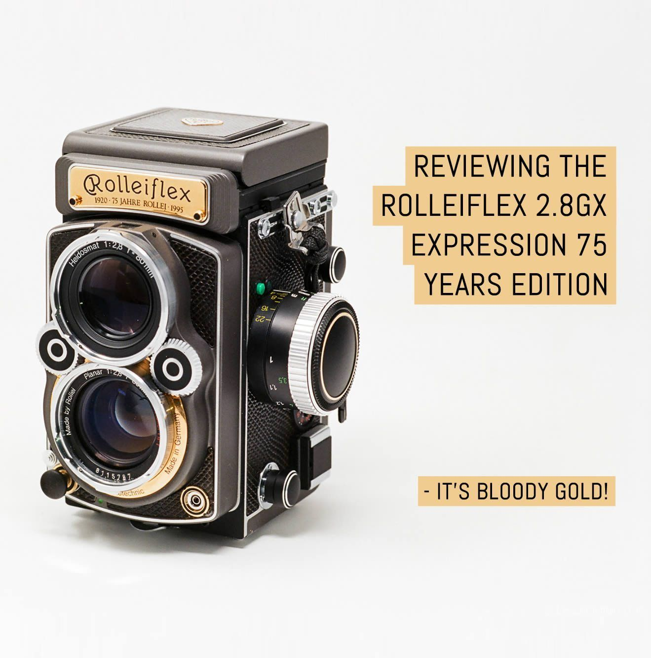 Reviewing The Rolleiflex 2 8gx Expression 75 Years Edition It S