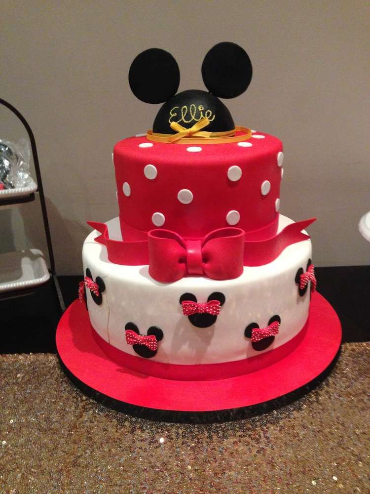 Outstanding Minnie Mouse Birthday Party Ideas With Images Minnie Mouse Personalised Birthday Cards Veneteletsinfo
