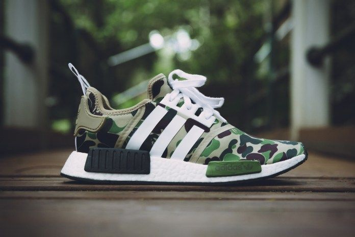 awesome Diese Olive Adidas NMD Sneakers wird ein Europa