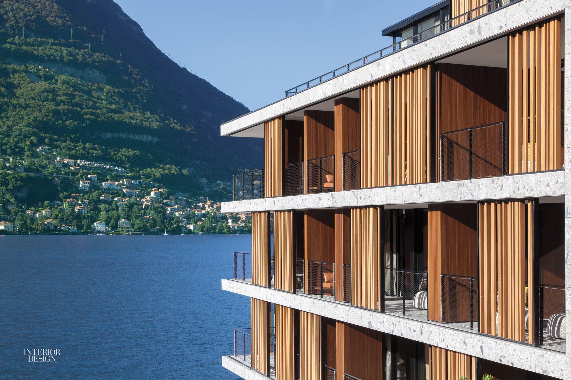 Patricia urquiola designs idyllic lake como hotel il for Design hotel como