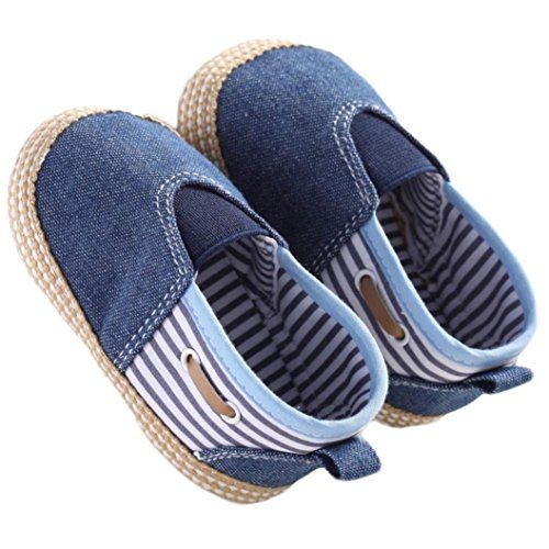 526c6639bea55 Voberry Baby Boys Girls Toddlers Sneakers Soft Sole Antislip Outdoor ...