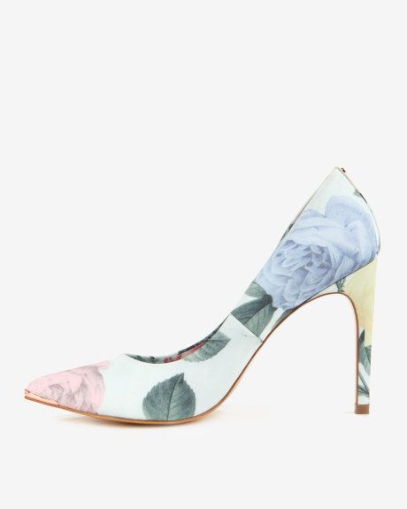 44f2172a40a3 Printed court shoes - Mint