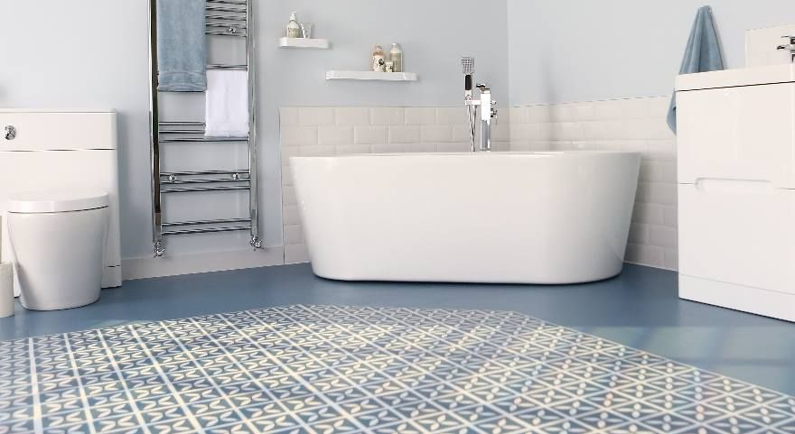 45 Design Bathroom Flooring Ideas Bathroom Vinyl Bathroom