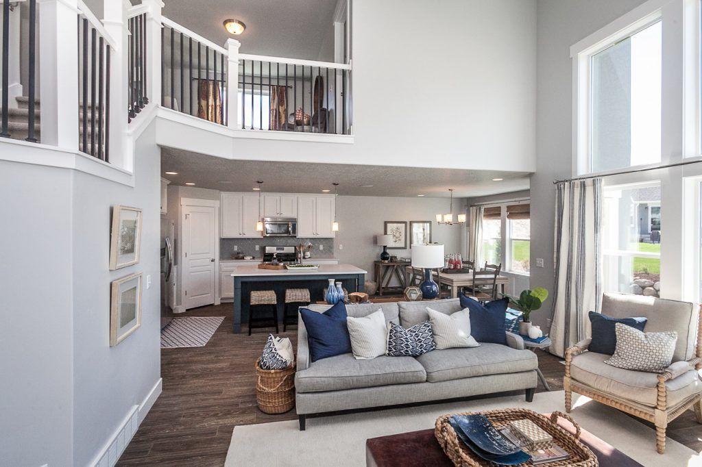 Orlando Floorplan Two Story Floorplan Edge Homes Arkitektur