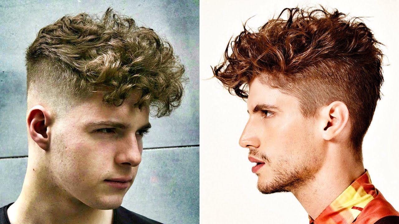 Peinados para cabello ondulado de hombre