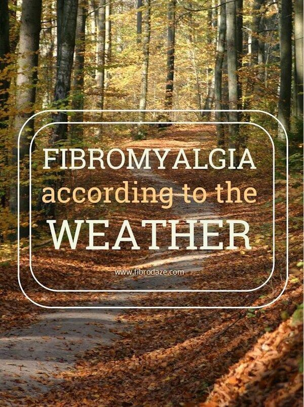 Fibromyalgia Pain According To The Weather