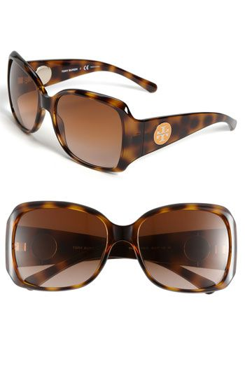 Tory Burch 58mm Square Sunglasses | Nordstrom