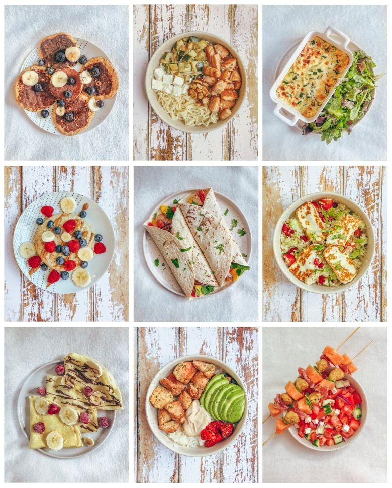Idée Repas Sain 21 idées de repas équilibrés   Lucile in Wonderland | Idée repas