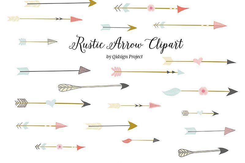 Rustic Arrow Clipart Png