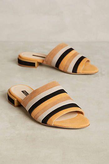 1ba75d7bb1 Erin Adamson Biba Slide Sandals Comfortable Shoes, Slide Sandals, Flat  Sandals, Mules Shoes