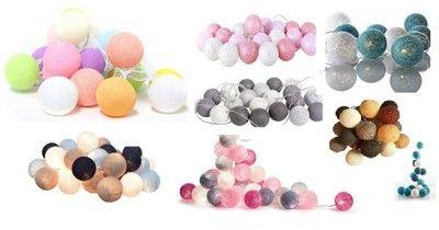 Cotton Ball 20 Kul Lampki Kolory Na Prad Laczenie 6614686314 Oficjalne Archiwum Allegro Cotton Ball Ball Prad