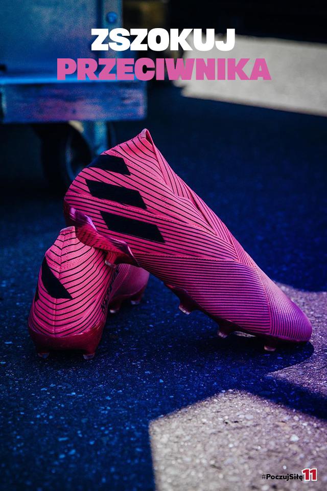 Rozowe Korki Adidas Nemezis Adidas Sport Shoes Shoes