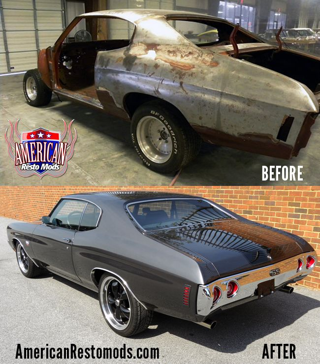 Chevelle Ss Before And After Customer Cars Pinterest
